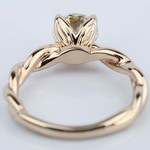 Designer Engagement Ring in Rose Gold by Parade (1.28 ct.) - small angle 4