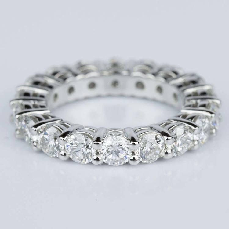 Diamond Eternity Ring in Platinum (4 ctw.)