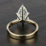 2 Carat Pear Diamond in Solitaire Gold Engagement Ring - small angle 4