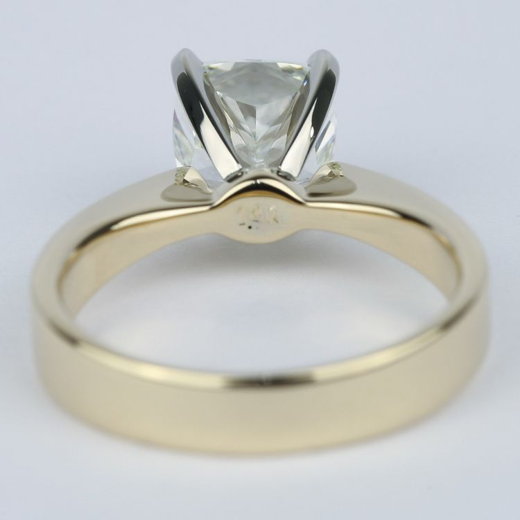 Flat-Taper Cushion Diamond Engagement Ring (2 Carat) angle 4