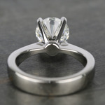 Taper Solitaire Engagement Ring with 2 Carat Diamond - small angle 4