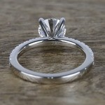 1 Carat Near-Flawless Round Diamond Engagement Ring  - small angle 4