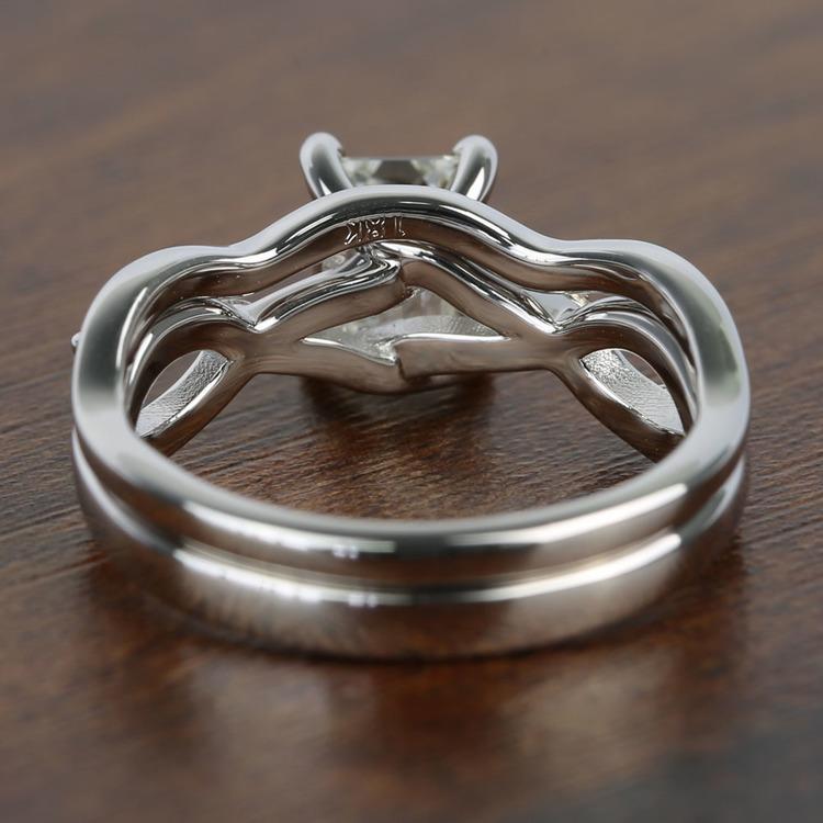 Florida Ivy 1.20 Carat Emerald Diamond Engagement Ring angle 4