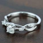 Florida Ivy Diamond Engagement Ring (0.45 ct.) - small angle 2