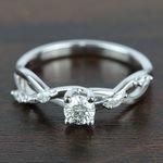 Florida Ivy Diamond Engagement Ring (0.45 ct.) - small