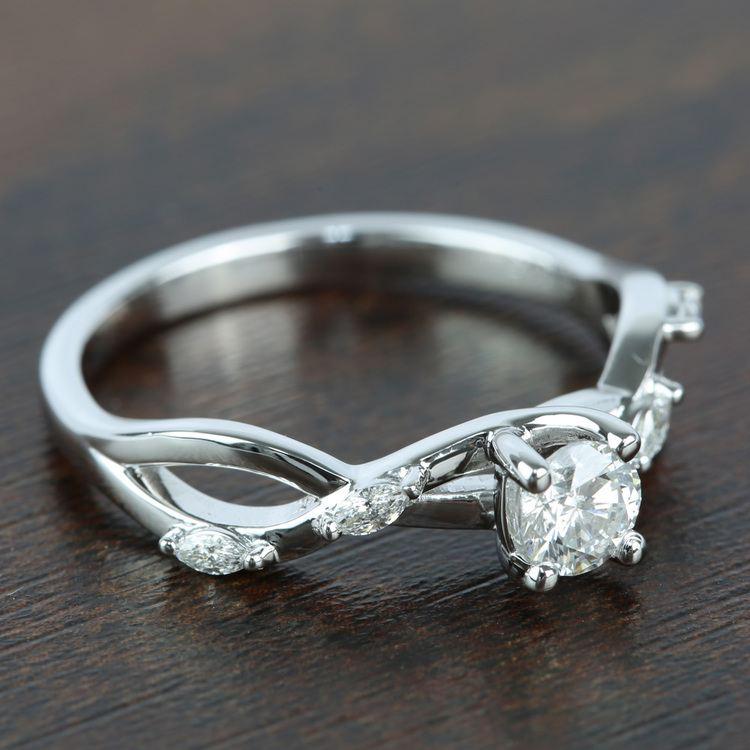 Florida Ivy Diamond Engagement Ring (0.45 ct.) angle 3