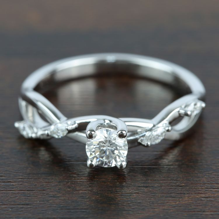 Florida Ivy Diamond Engagement Ring (0.45 ct.)