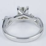 Florida Ivy Round Diamond Engagement Ring (0.80 ct.) - small angle 4