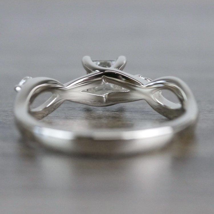 Florida Ivy Princess Cut Diamond Engagement Ring angle 4