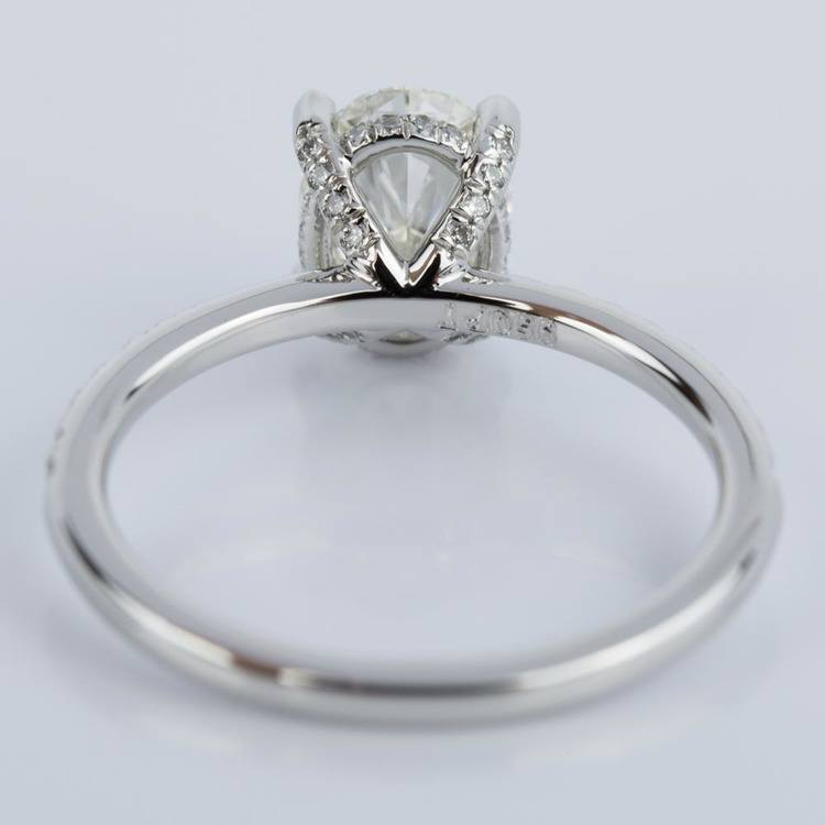 mounts split open rings band basket category categories engagement thin setting diamond product semi finished prong