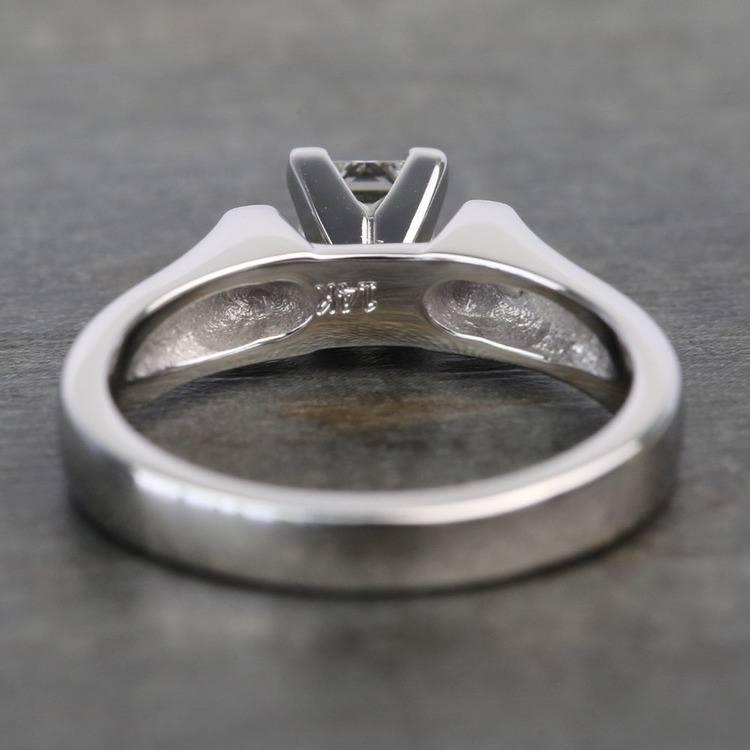 Half-Carat Square Contour Solitaire Princess Diamond Engagement Ring angle 4