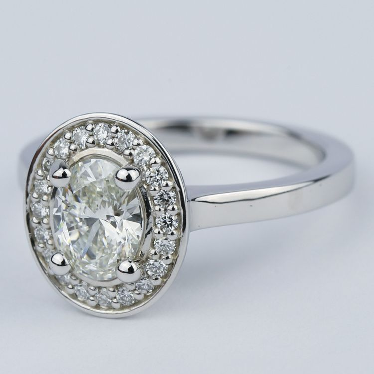 1 Carat Oval Engagement Rings