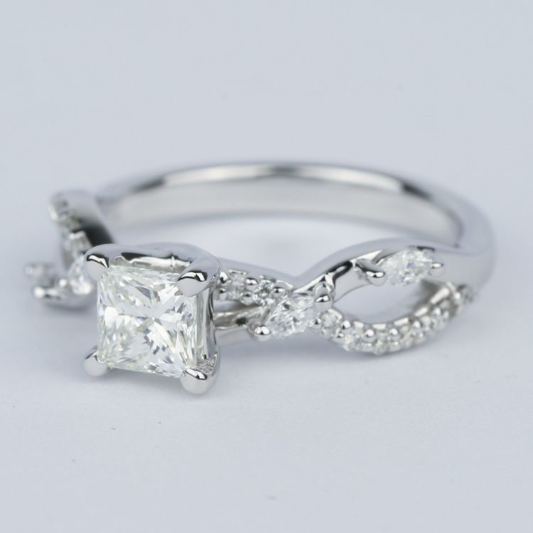 Ivy Princess Diamond Engagement Ring angle 2