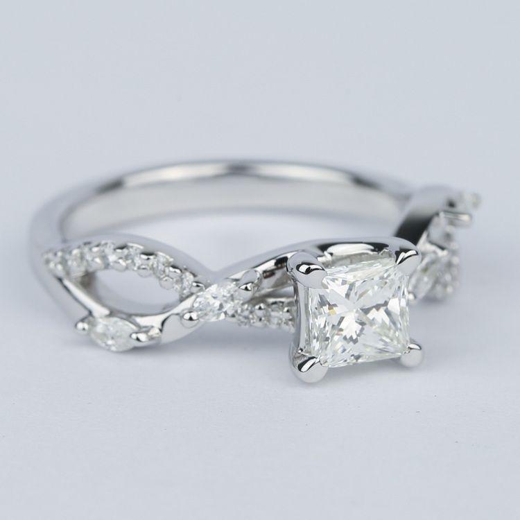 Ivy Princess Diamond Engagement Ring angle 3