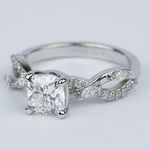 Ivy Cushion Diamond Engagement Ring (1.23 ct.) - small angle 2