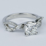 Ivy Cushion Diamond Engagement Ring (1.23 ct.) - small angle 3