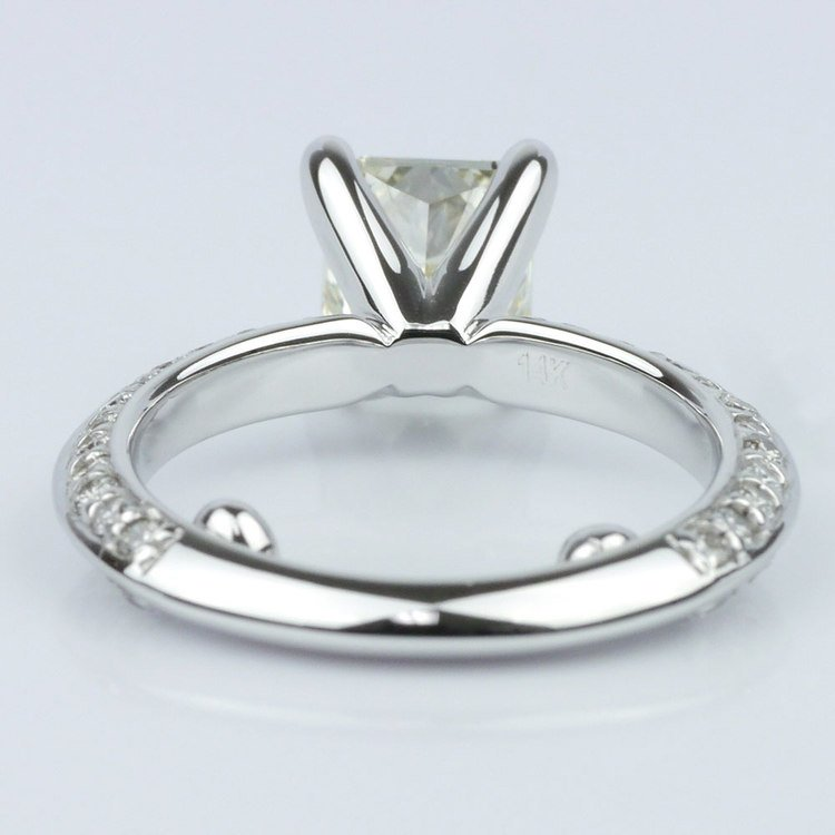 Knife Edge Diamond Ring angle 4