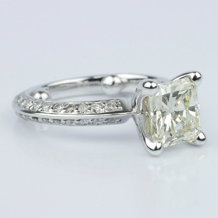 Knife Edge Diamond Ring angle 3