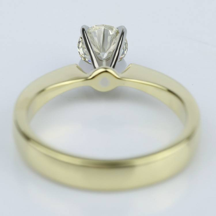 M Color Diamond Solitaire Engagement Ring (0.70 ct.) angle 4