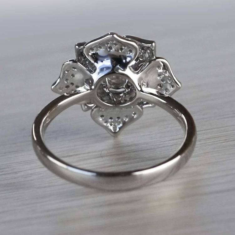 Moonlit Flower Engagement Ring by Parade angle 4