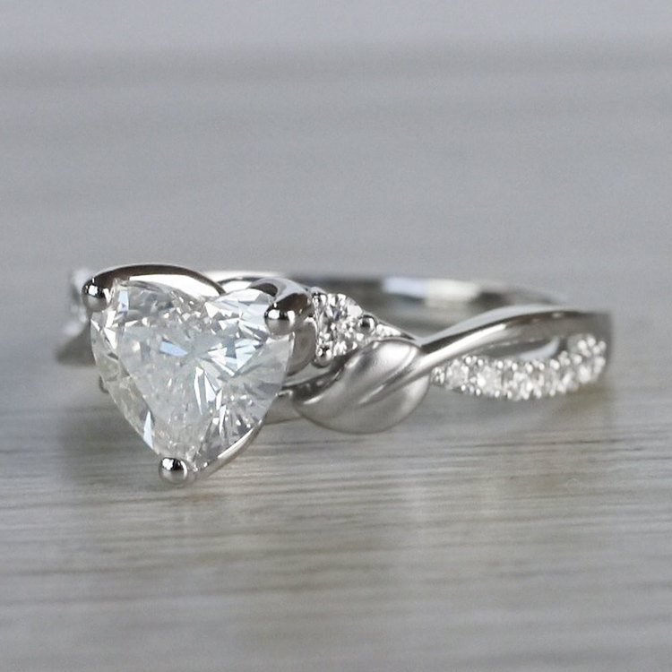 New Leaves 1 Carat Diamond Ring by Parade angle 2