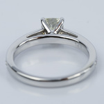Pave Cathedral 0.92 Carat Cushion Diamond Engagement Ring - small angle 4