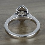 Flawless Marquise Halo Diamond Engagement Ring (0.50 ct.) - small angle 4