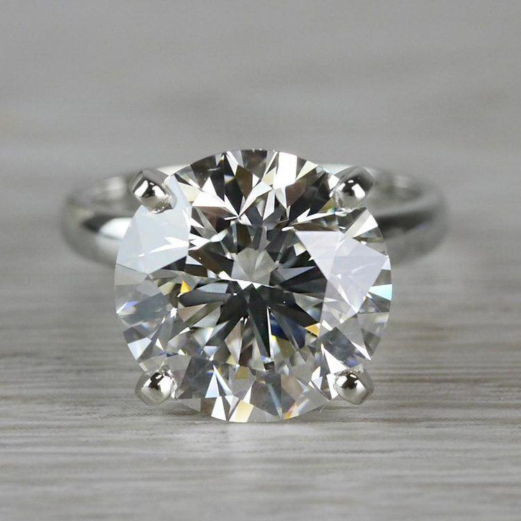 Perfect Paradise Solitaire 5 Carat Diamond Ring