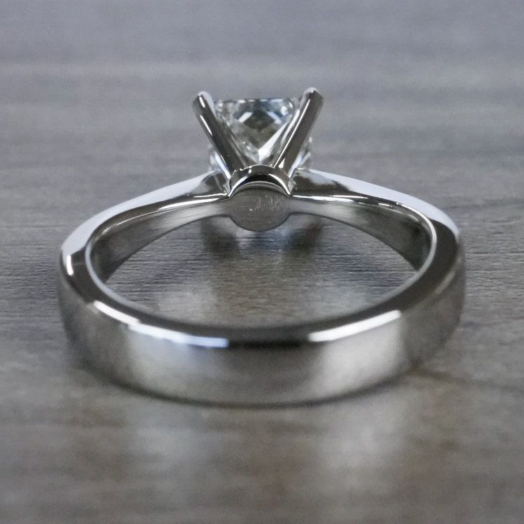 Perfection Princess Cut Diamond Solitaire Engagement Ring angle 4