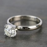 Preset 1 Carat Round Solitaire Diamond Engagement Ring - small angle 2