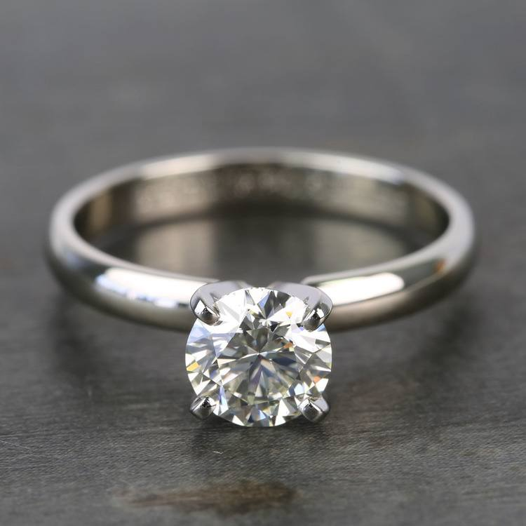 Preset 1 Carat Round Solitaire Diamond Engagement Ring