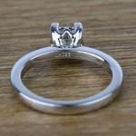 Princess Solitaire Diamond Engagement Ring (0.80 Carat) - small angle 4
