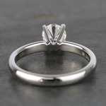 Round Classic Solitaire Diamond Engagement Ring (0.70 Carat) - small angle 4