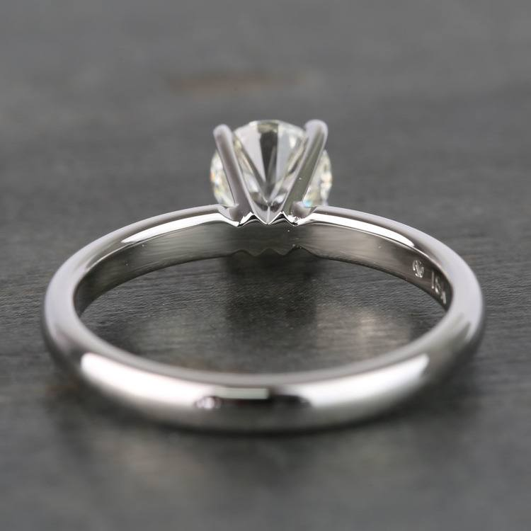 Round Classic Solitaire Diamond Engagement Ring (0.70 Carat) angle 4