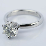 Round Diamond Solitaire Engagement Ring (1.16 ct.) - small angle 2