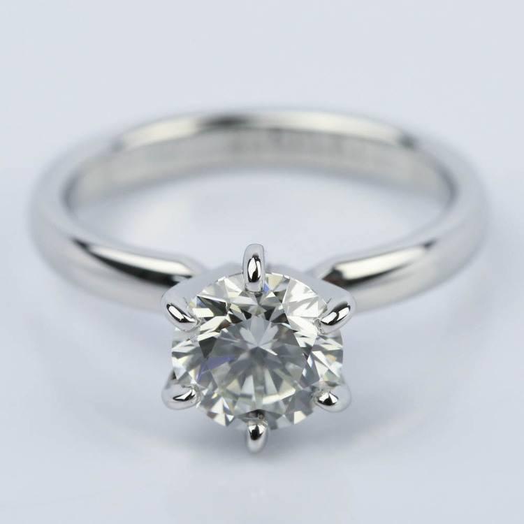 Round Diamond Solitaire Engagement Ring (1.16 ct.)