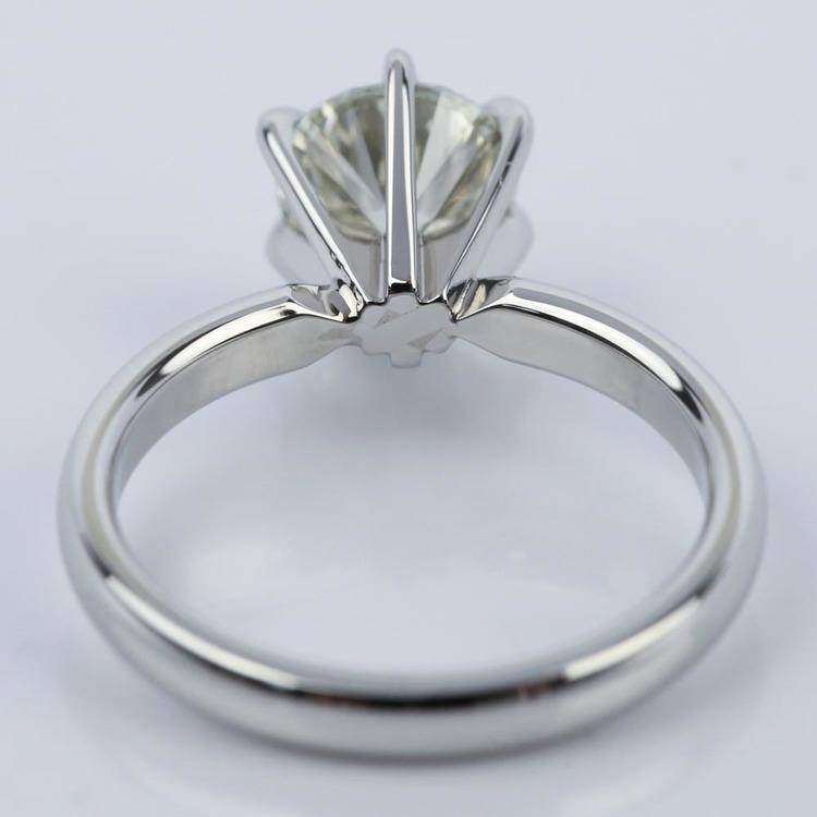 Round Diamond Solitaire Engagement Ring (1.16 ct.) angle 4
