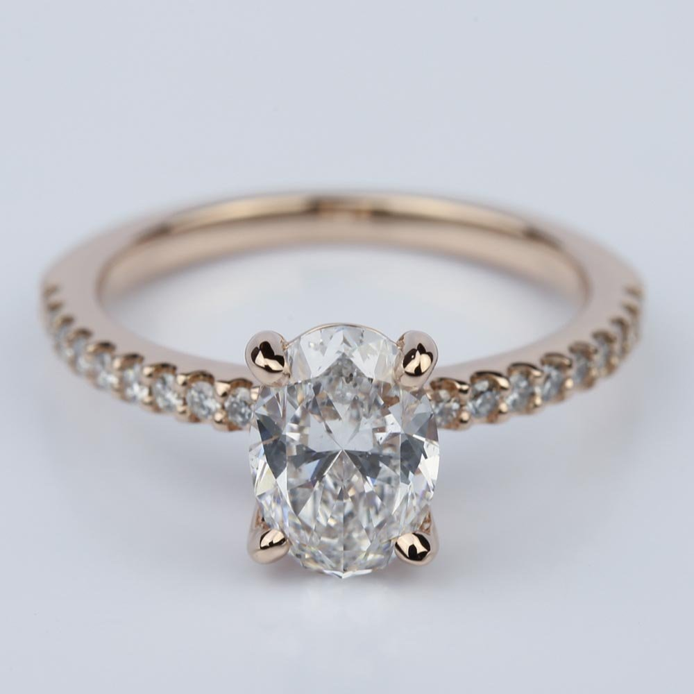 30 fresh oval engagement rings rose gold