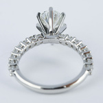 1.92 Carat Pear Diamond Shared Prong Engagement Ring - small angle 4