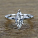 Six-Prong 1.02 Carat Marquise Loose Diamond Engagement Ring - small