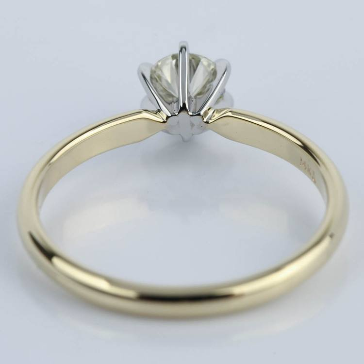 Six-Prong Comfort Fit Round Diamond Engagement Ring (0.40 ct.) angle 4