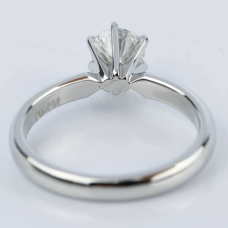 Six-Prong Flawless Diamond Solitaire Engagement Ring (0.45 ct.) angle 4