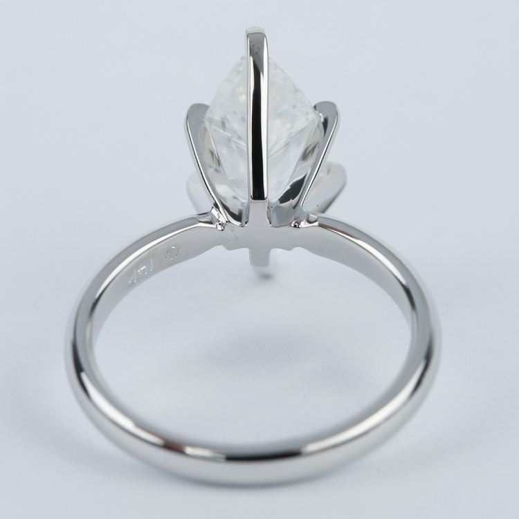 Six-Prong Marquise Diamond Engagement Ring (2.76 Carat) angle 4