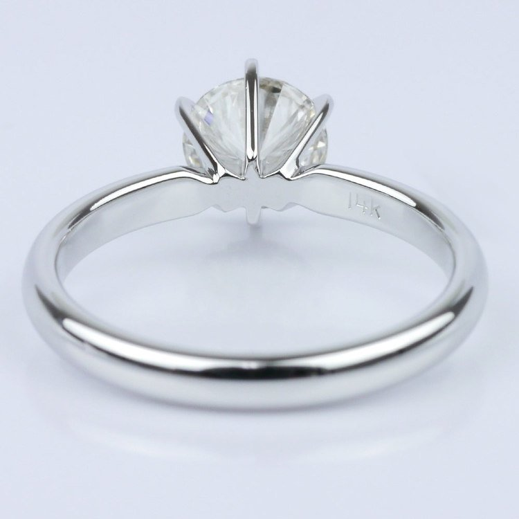 Six-Prong Solitaire Engagement Ring angle 4