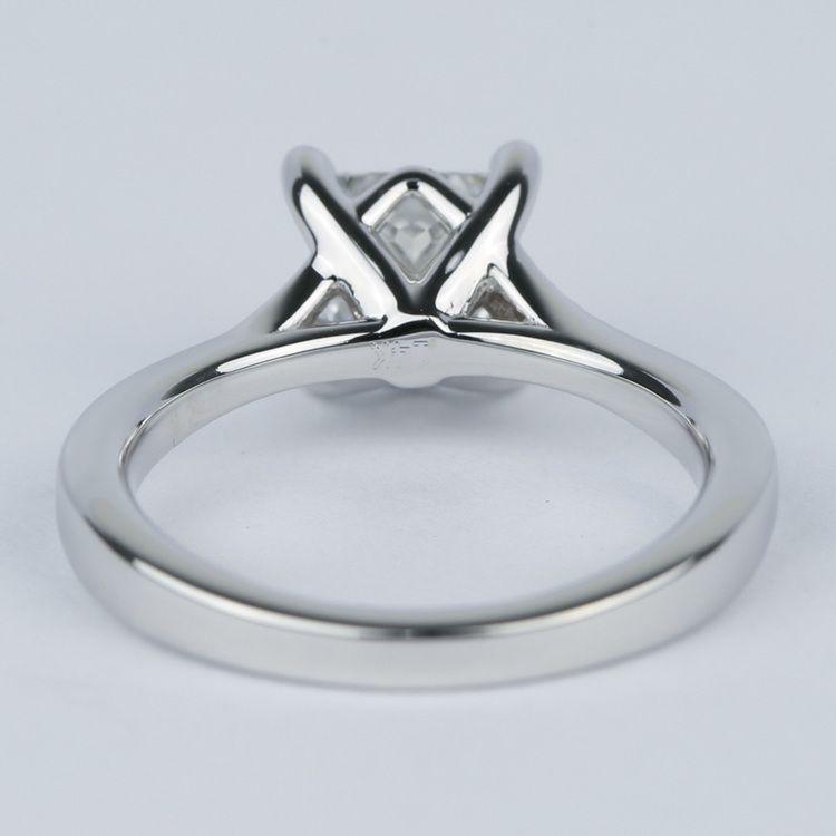 Split Shank Princess Diamond Engagement Ring (1.28 Carat) angle 4
