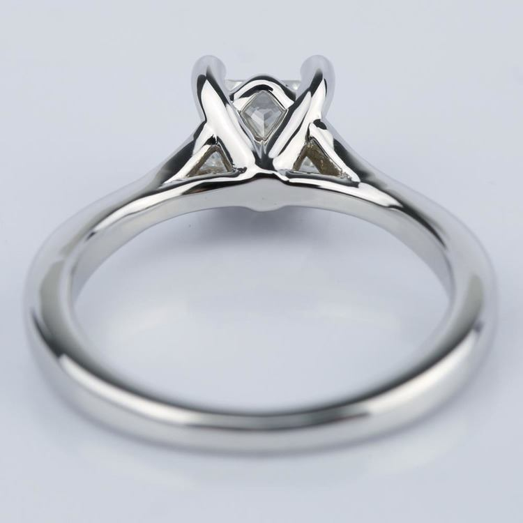 Split-Shank Princess Diamond Engagement Ring (0.70 ct.) angle 4