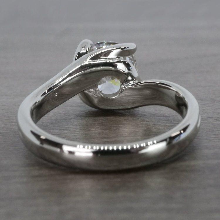 Swirl Styled 2 Carat Diamond Ring angle 4