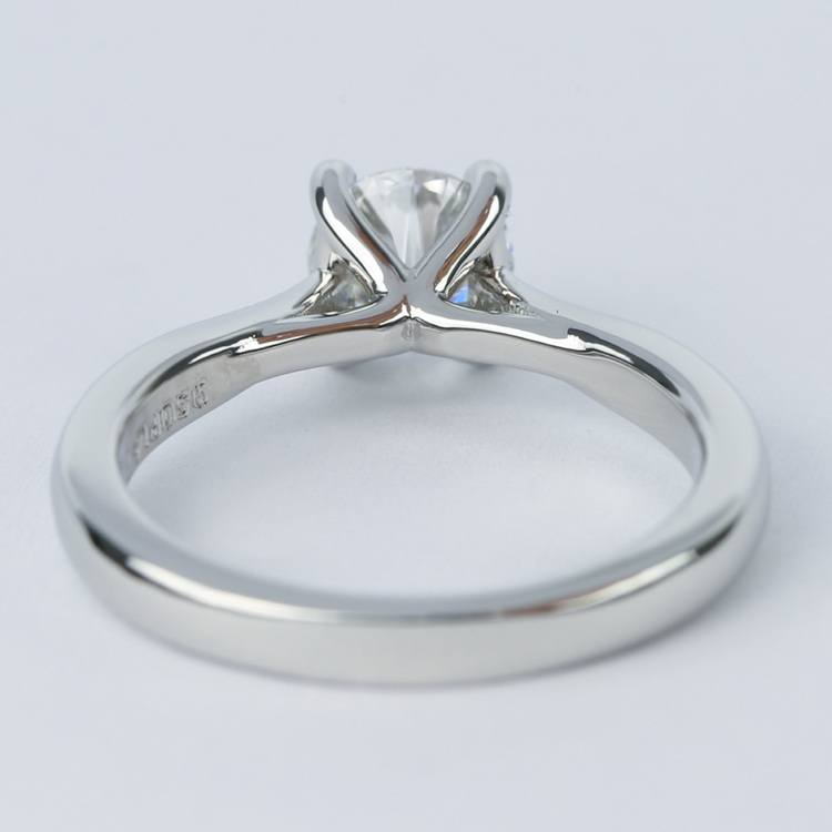 D Color Solitaire Diamond Engagement Ring (0.96 ct.) angle 4