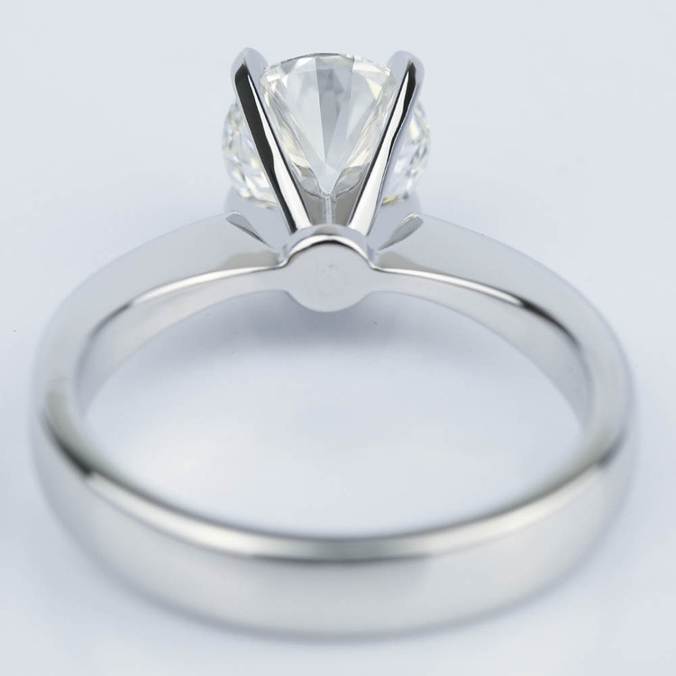 Taper Solitaire GIA Diamond Engagement Ring (1.45 ct.) angle 4