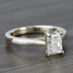 Tapered Solitaire 1.40 Carat Radiant Diamond Engagement Ring - small angle 3